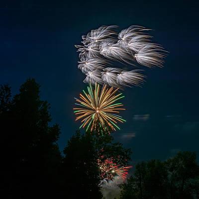 Skyrocket Photograph - Canada Day by Steve Harrington
