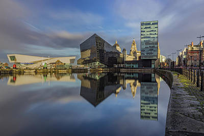Albert Dock Photograph - Canning Dock Liverpool by Paul Madden
