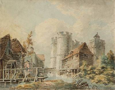 Kingdom Painting - Canterbury The West Gate by Joseph Mallord