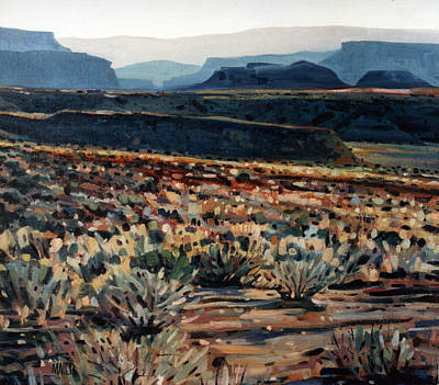 Painting - Canyonlands by Donald Maier