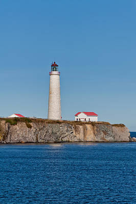 Photograph - Cap Des Rosiers Lighthouse by U Schade
