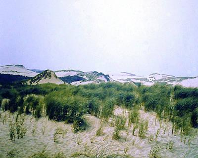 Photograph - Cape Cod Sand Dunes by Merton Allen