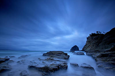 Print featuring the photograph Cape Kiwanda by Evgeny Vasenev