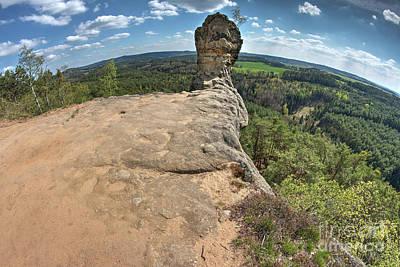 Photograph - Capska Cudgel - Rock Formation by Michal Boubin