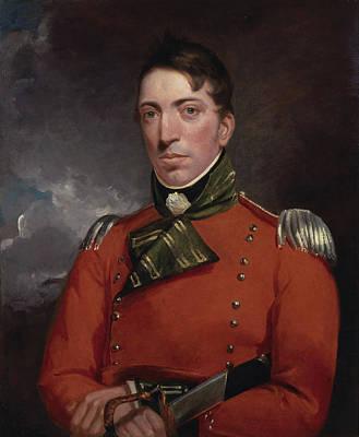 Romanticism Painting - Captain Richard Gubbins by John Constable