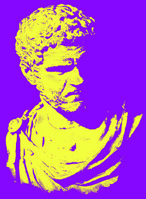 Painting - Caracalla - The Mighty Will Fall by Andrea Mazzocchetti