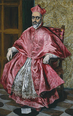 Fernando Painting - Cardinal Fernando Nino De Guevara by El Greco