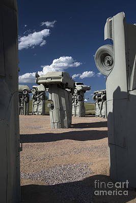 Photograph - Carhenge by Jim West