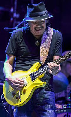 Carlos Santana Art Print