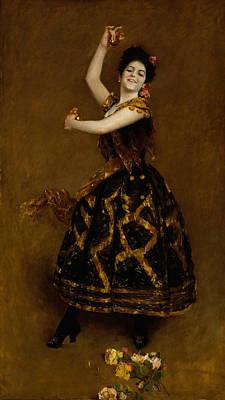Painting - Carmencita by William Merritt Chase