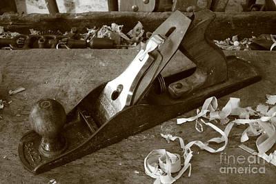 Gaspar Avila Photograph - Carpentry Tools by Gaspar Avila
