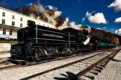 Photograph - Cass Scenic Railroad by L O C