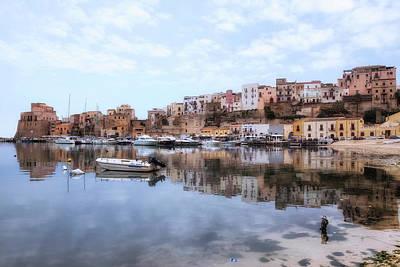 Castellammare Del Golfo - Sicily Art Print by Joana Kruse