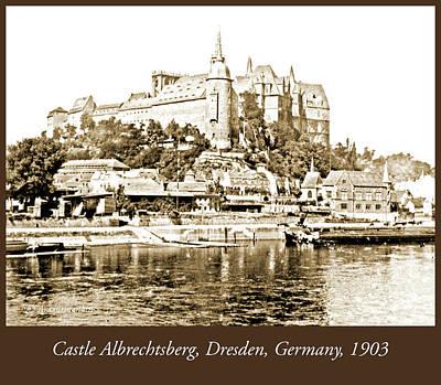 Sean - Castle Albrechtsberg Germany 1903 Vintage Photograph by A Macarthur Gurmankin