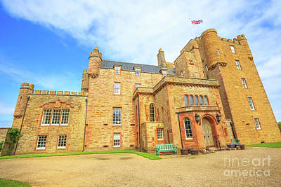 Photograph - Castle Of Mey by Benny Marty