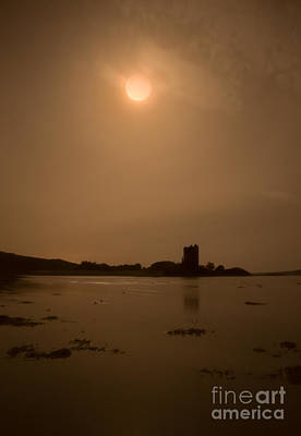 Rights Managed Images - Castle Stalker Blood Moon Royalty-Free Image by Keith Thorburn LRPS EFIAP CPAGB