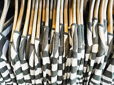 Rack Photograph - Casual Tops by Tom Gowanlock