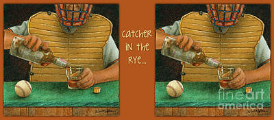 Painting - Catcher In The Rye... by Will Bullas