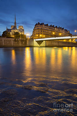 Photograph - Cathedral Notre Dame - Paris by Brian Jannsen