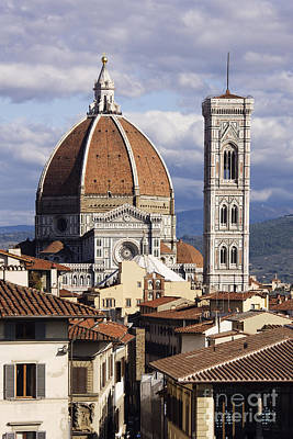 Religious Charm Photograph - Cathedral Of Santa Maria Del Fiore by Jeremy Woodhouse