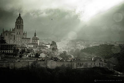Photograph - Cathedral Of Segovia Spain by Henri Irizarri