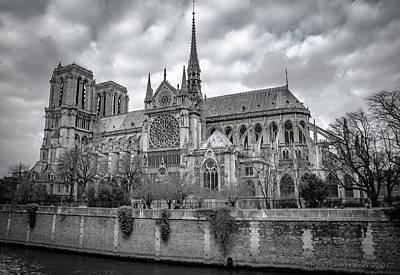 Photograph - Cathedrale Notre Dame De Paris by Henri Irizarri