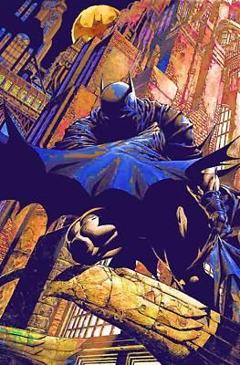 Batman Digital Art - Catwoman Batman by Egor Vysockiy