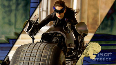Heroes Mixed Media - Catwoman Collection by Marvin Blaine