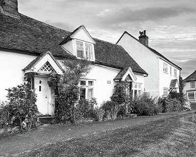 Causeway Cottages Finchingfield Art Print