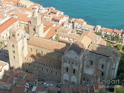Photograph - Cefalu Duomo by Rod Jones