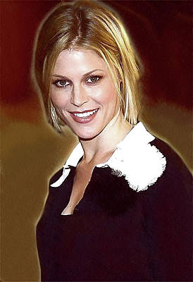 Doppelganger Digital Art - Celebrity Julie Bowen  by Best Actors