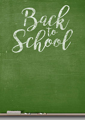 Chalk Board Art Print