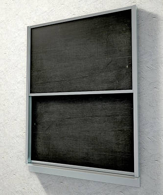 Duster Digital Art - Chalk Board Render by Allan Swart