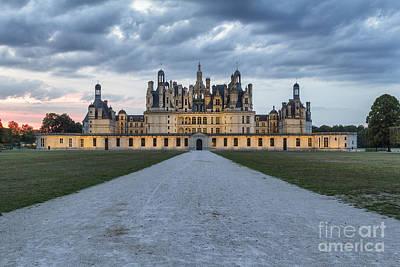 Photograph - Chambord Castle by Pier Giorgio Mariani