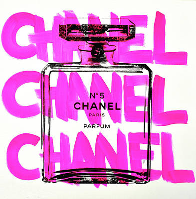 Chanel Wall Art - Painting - Chanel Chanel Chanel  by Shane Bowden