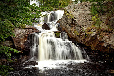 Gentle Cascades Photograph - Chapman Falls by Mountain Dreams