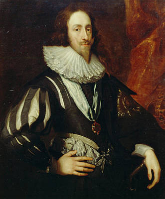 Sir Painting - Charles I by Anthony van Dyck