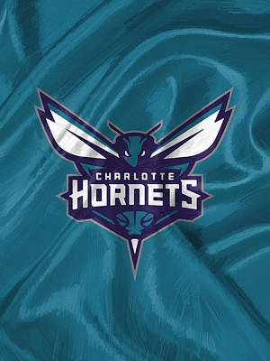 Restaurant Digital Art - Charlotte Hornets by Afterdarkness