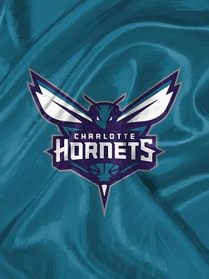 Phone Digital Art - Charlotte Hornets by Afterdarkness