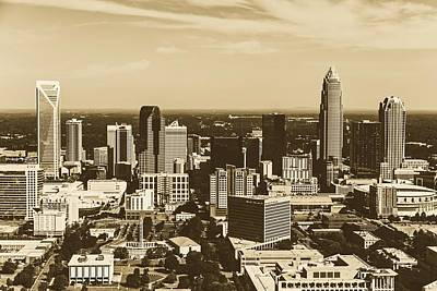 Photograph - Charlotte Skyline by Library Of Congress