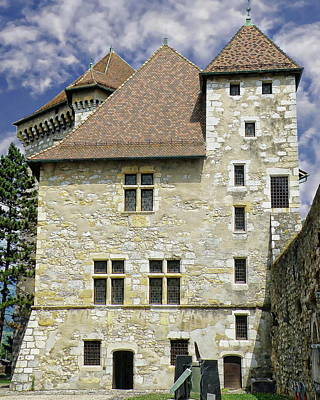Photograph - Chateau D'annecy Castle by Anthony Dezenzio
