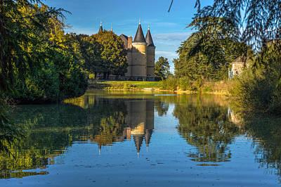 Photograph - Chateau De La Motte Henry by Judith Barath