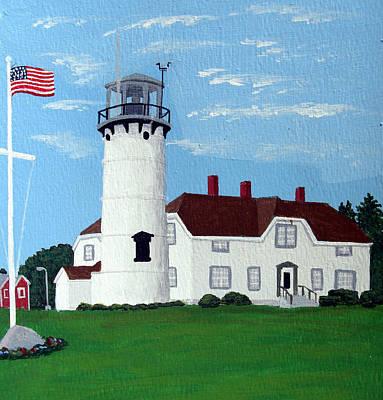 Lighthouse Painting - Chatham Lighthouse by Frederic Kohli