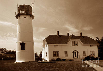 Chatham Lighthouse Ma Art Print