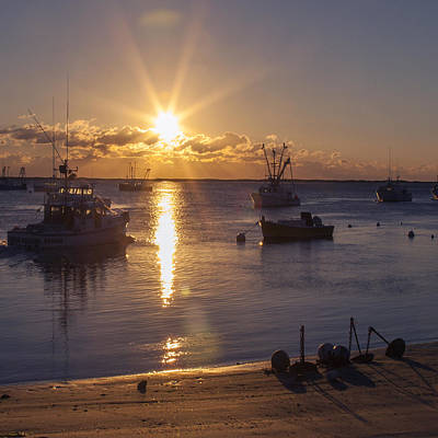 Photograph - Chatham Sunrise by Charles Harden