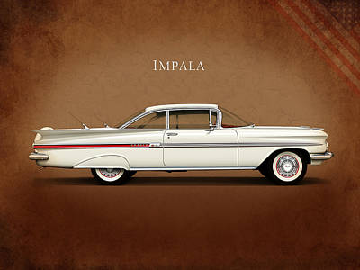 Chevrolet Impala Photograph - Chevrolet Impala by Mark Rogan