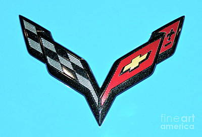 Photograph - Chevy Emblem by Pamela Walrath