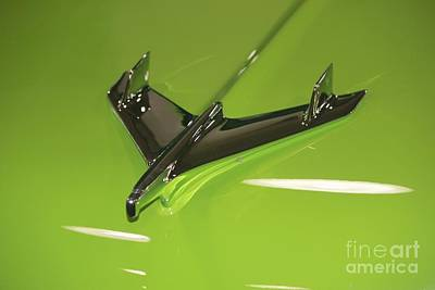 Photograph - Chevy Hood Ornament by Douglas Miller
