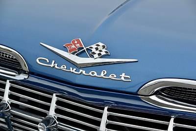 Photograph - Chevy Impala  by Dean Ferreira