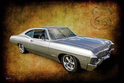 Photograph - Chevy Impala by Keith Hawley